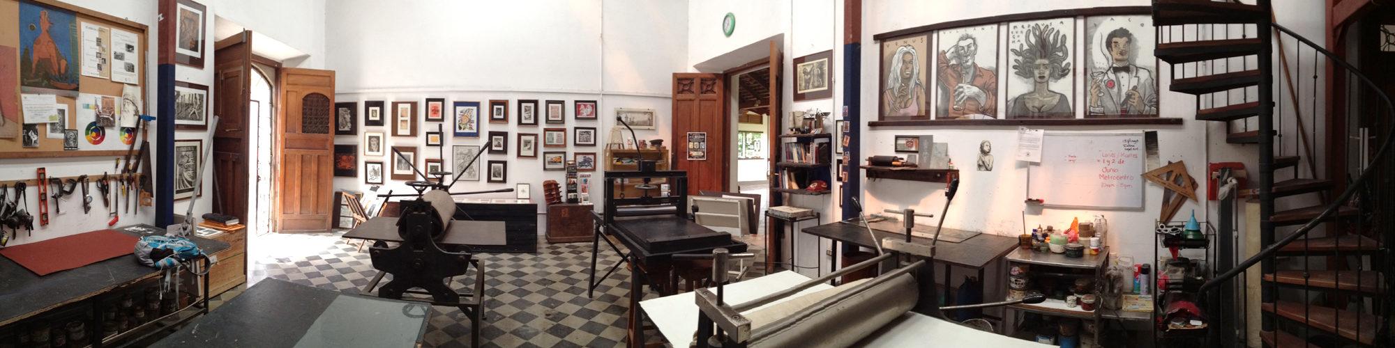 Graphic Studio »Casa Tres Mundos«